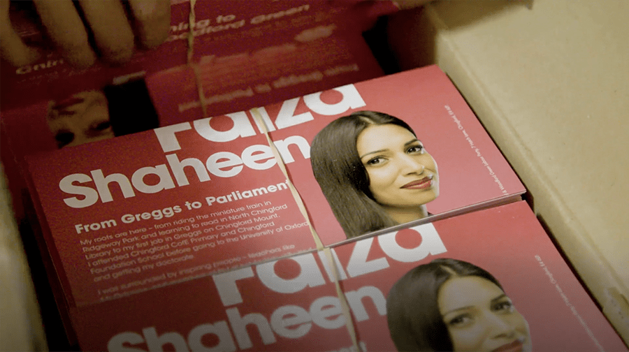 Faiza Shaheen – General Election 2019