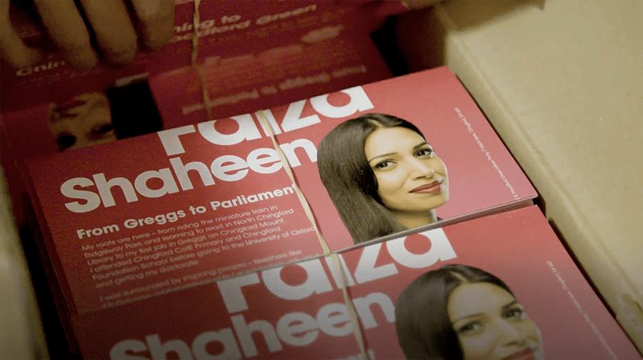 Faiza Shaheen – General Election 2019